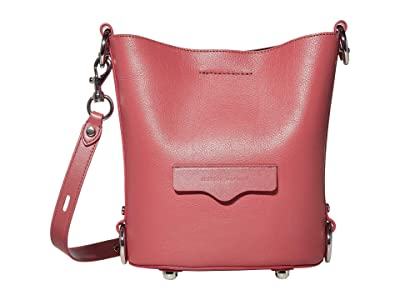 Rebecca Minkoff Small Utility Convertible Bucket (Fig) Handbags