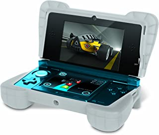 """Comfort Grip for Original 3DS (Not the """"NEW"""" version) – Silicone Protective Cover Gives Your 3DS Armor - (Clear White)"""