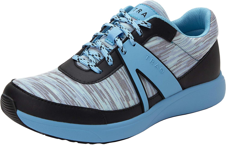 Alegria TRAQ Qarma Womens Smart Walking Shoe Horizons Blue 6 M U