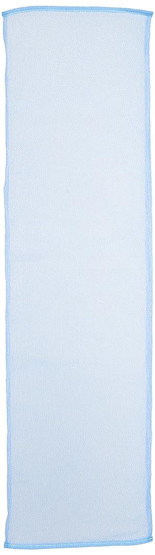 期限森アフリカアイセン BHN02 ナイロンタオル100cmかため ブルー