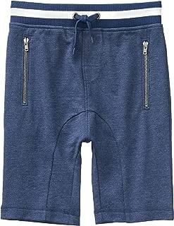 Boys' Little Drawstring Knit Harem Short