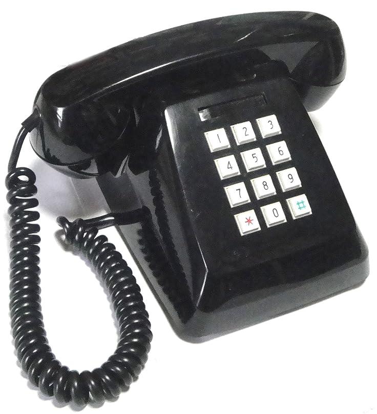 内側生理ケーブルNTT 601-P プッシュ式電話機 (プッシュホン) (ブラック)