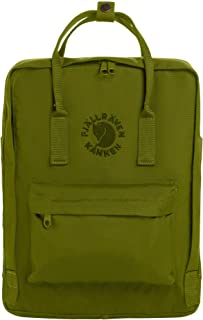 Re-Kanken Recycled and Recyclable Kanken Backpack for Everyday, Spring Green