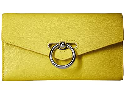 Rebecca Minkoff Jean Wallet On Chain (Capr Yellow) Wallet Handbags