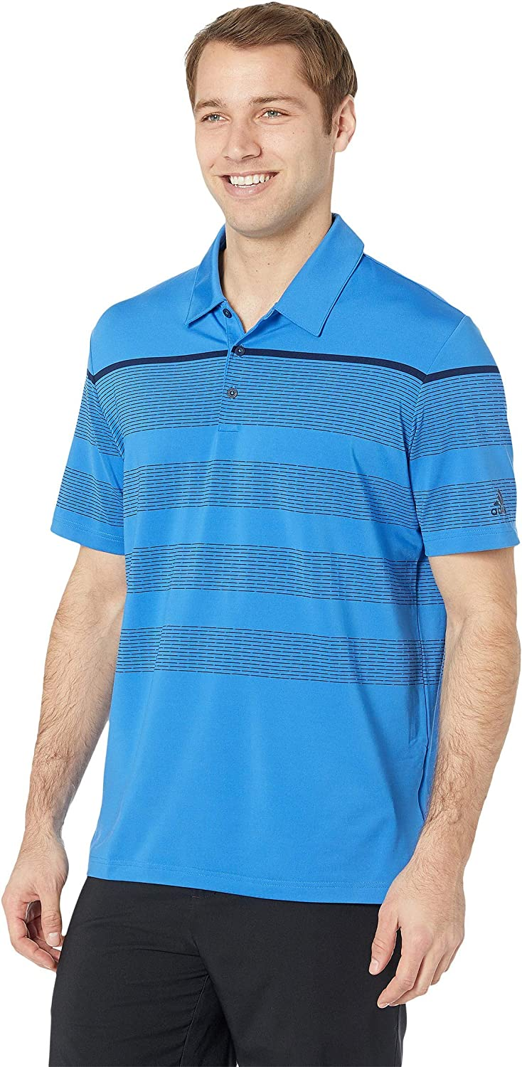 adidas Golf Ranking 55% OFF TOP8 Men's Ultimate Engineered 2019 Model Polo Stripe