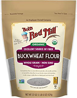 Organic Buckwheat Flour, 22 Ounce (Pack of 1)