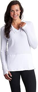ExOfficio Women's BugsAway Lumen Lightweight Pullover Hoody- Insect, Tick, Mosquito Repellent Permethrin Clothing