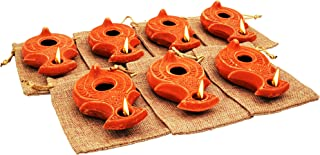 ancient clay lamps
