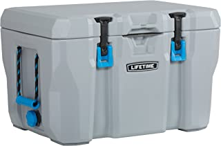 Lifetime 55 Quart High Performance Cooler, Grey, 90820 (55-Quart) (55-Quart)