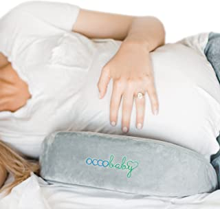 OCCObaby Pregnancy Pillow, Memory Foam Body Wedge for Belly, Knees and Back Support
