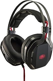 Cooler Master MH750 Binaural Diadema Negro Auricular con micrófono - Auriculares con micrófono (PC/Juegos, 7.1 Canales, Binaural, Diadema, Negro, Multi)