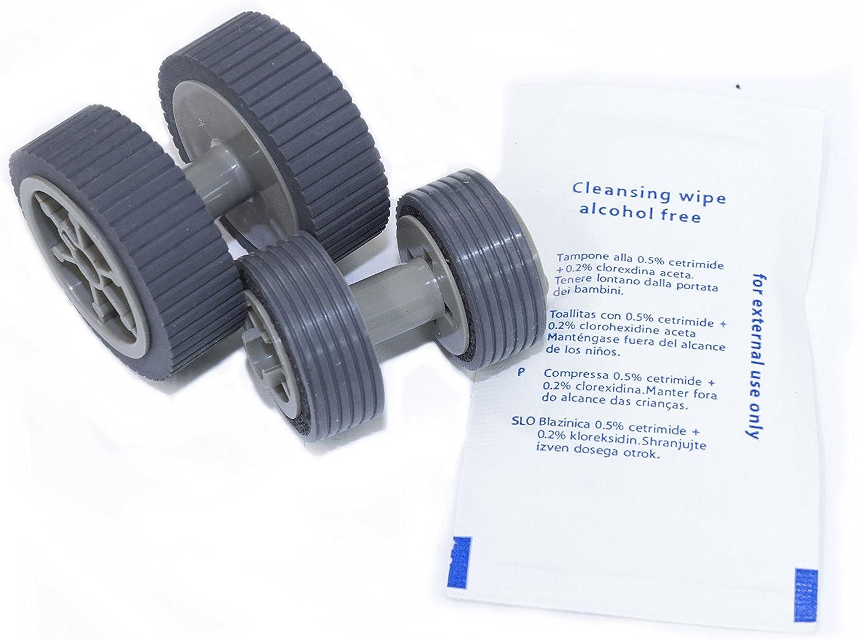 Yanzeo PA03540-Y075 PA03630-Y210 PA03540-G078 PA03540-Y078 for Fujitsu fi-6240Z fi-6140Z fi-6230Z fi-6130Z fi-6240 fi-6140 fi-6230 fi-6130 fi-6125 fi-6225 Feed Exit Roller Rubber Tire