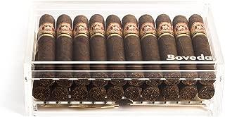 Boveda Acrylic Humidor (Small) for Cigars 20 Robusto or 12 Churchill or Double Corona