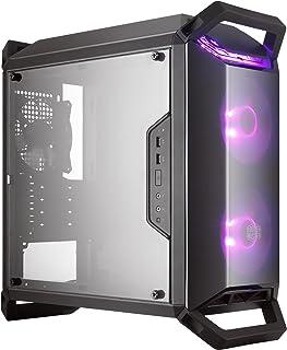 Cooler Master MasterBox Q300P - Cajas de ordenador de sobremesa 'Micro-ATX, Mini-ITX, LED RGB, con ventana' MCB-Q300P-KANN-S02