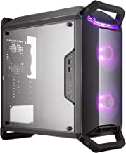Cooler Master MasterBox Q300P Micro-ATX with Dual 120mm ARGB Fans, Front/Top Dark Mirror Panel, Transparent Acrylic Side P...