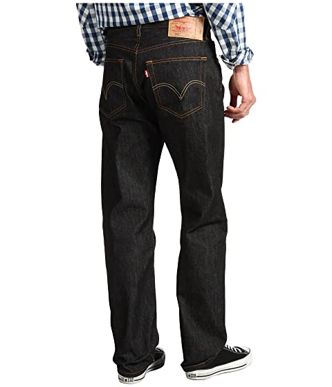 Levis Mens 501 Original Shrink To Fit Jeans At Zappos