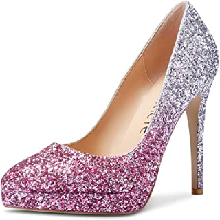 Castamere Scarpe col Tacco Plateau Donna Moda Tacco a Spillo 12CM High Heels