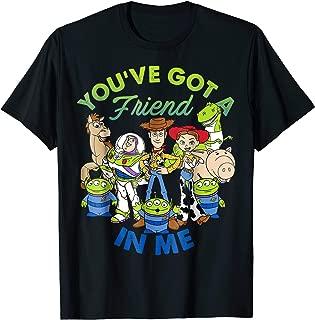 Pixar Toy Story Cartoon Group Shot Graphic T-Shirt