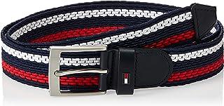 Tommy Hilfiger Mens Adan Stripe Elastic 3.5 Belt