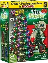 flashing led christmas tree lights