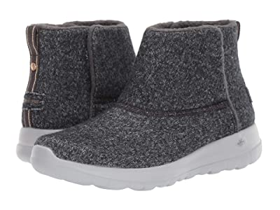 SKECHERS Performance On The Go Joy Wash-A-Wool (Charcoal) Women