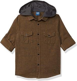 Amazon Brand - Jam & Honey Boy's Regular Button Down Shirt