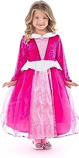 Little Adventures Deluxe Sleeping Beauty Hot Pink Princess Dress Up Costume
