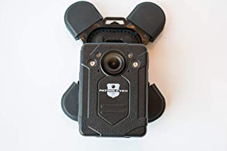 PatrolEyes klick Fast Quick Release Police Body Camera Magnet Chest Mount for PatrolEyes MAX (Pictured), PRO, Edge