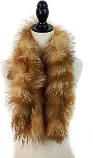 Fox Fur Collar Scarf - Womens Boa - Winter Neck Warmer Wrap - Bridal Wedding Attire