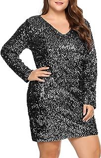 Best plus size silver glitter dress Reviews