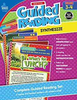 Carson-Dellosa Ready to Go Guided Reading: Synthesize Resource Book, Grades 3-4