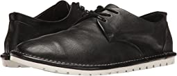 Gomma Soft Leather Lace-Up Plain Toe Oxford