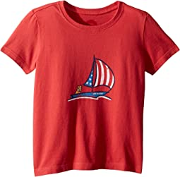 Crusher Americana Sailboat Tee (Toddler)