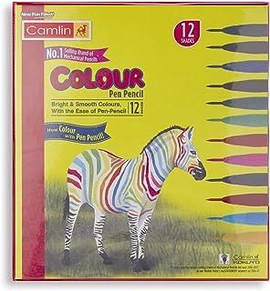 Camlin Colour Pen Pencil - Pack of 12 (Multicolor)