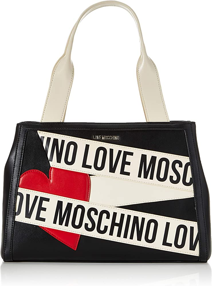 Love moschino fw, borse a spalla da donna, nuova collezione 2020 JC4026PP1BLD100A