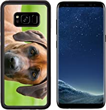 Liili Premium Samsung Galaxy S8 Aluminum Backplate Bumper Snap Case A rhodesian ridgeback with an inquisitive face in Australia Photo 19380512 Simple Snap Carrying