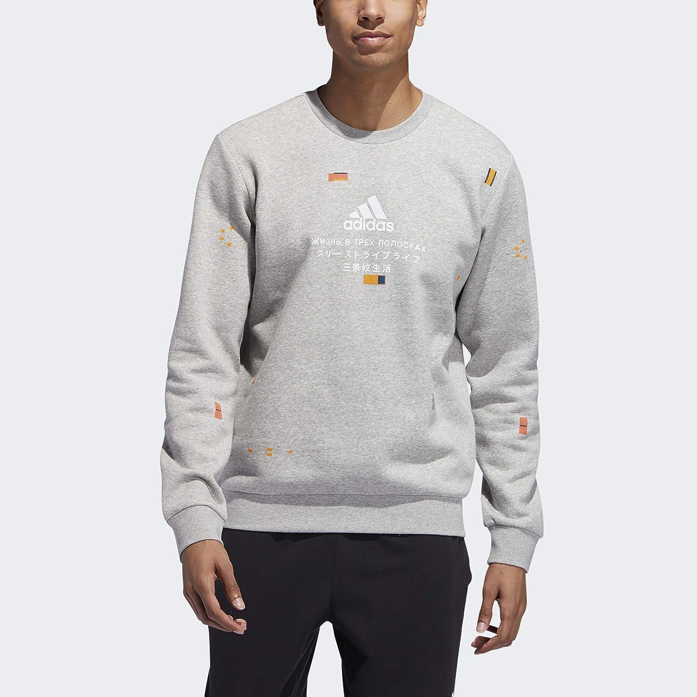 adidas Men's San Francisco Max 50% OFF Mall Global Crew Citizens Sweatshirt