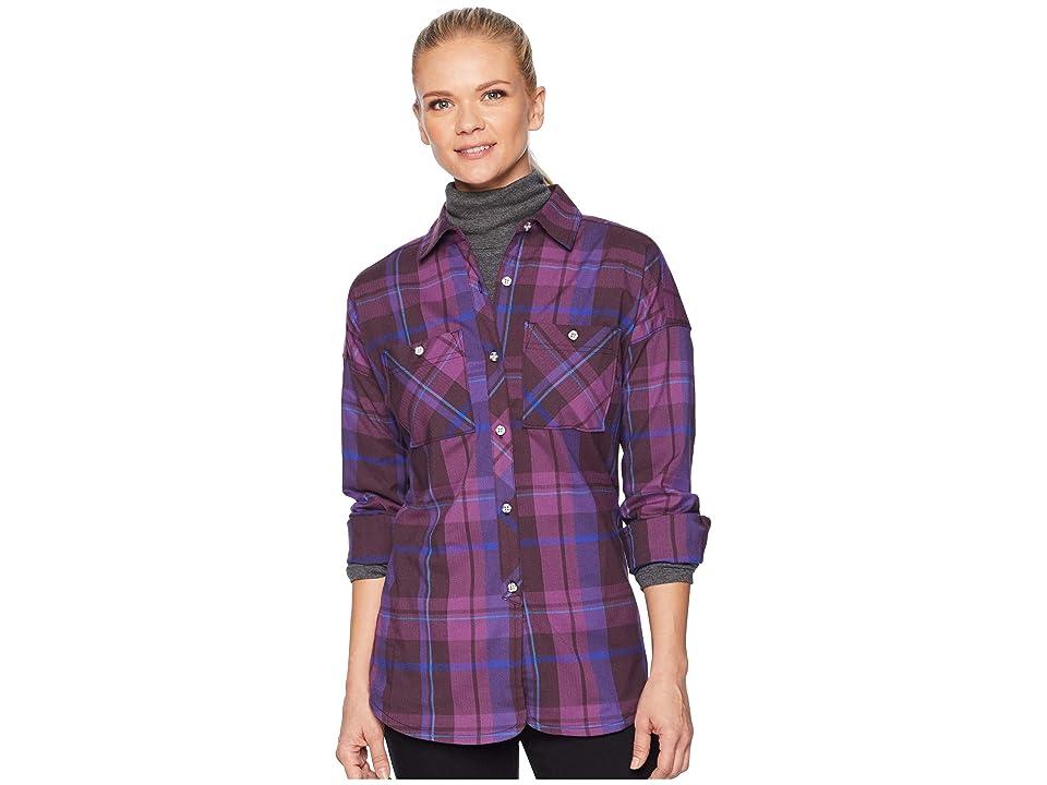 Mountain Hardwear Acadia Stretchtm Long Sleeve Shirt (Dark Tannin) Women