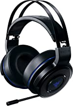 Razer Thresher 7.1 - Playstation 4 & PC Wireless Gaming Headset - 7.1 Dolby Surround Sound with Retractable Microphone
