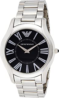 Emporio Armani Mens Classic Stainless Steel Wrist Watch