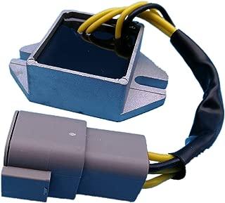Tuzliufi Voltage Regulator Replace Ski Doo Snowmobile MX Z 380 ZX 440 500 550 Skandic Summit 2002-2004 2005 2006 380F 440F 500F 550F 400 Replace 420888617 515175655 420-888-617 515-175-655 New Z25
