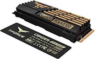 TEAMGROUP T-Force CARDEA A440 1TB with DRAM SLC Cache and Graphene Copper Foil 3D NAND TLC NVMe PCIe Gen4 x4 M.2 2280 Gami...