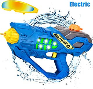 balnore Pistola de Agua eléctrica con Gafas Pistolas de