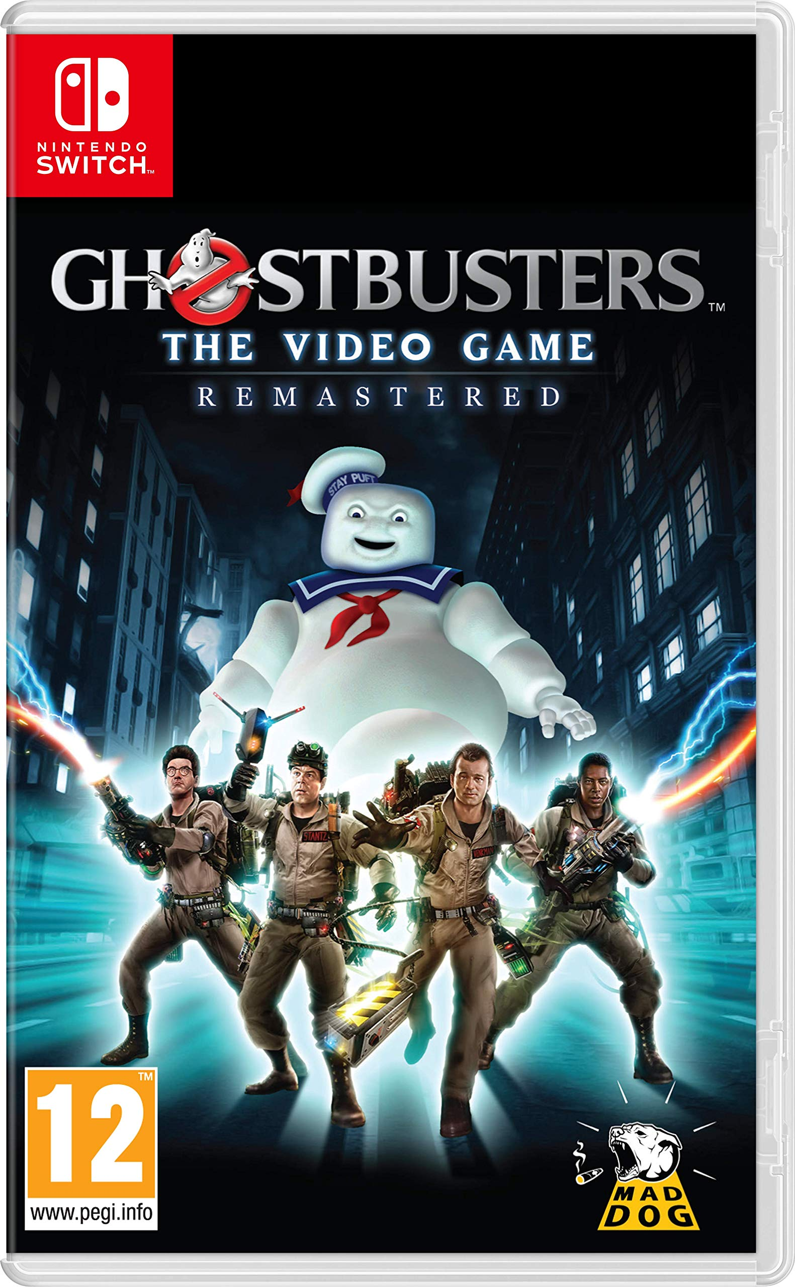 Ghostbusters The Video Game Remastered - Nintendo Switch ...