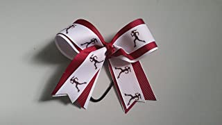 cross country hair ribbons