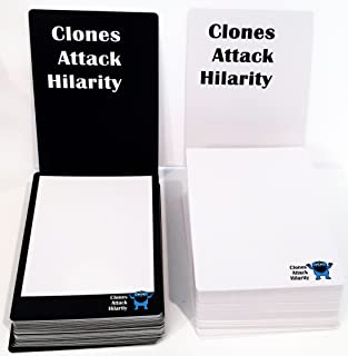 Apostrophe Games Clones Attack Hilarity - Blank Deck - 108 Blank Cards for All of Humanity