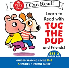 Learn to Read with Tug the Pup and Friends! Set 2: Books 6-10 (My Very First I Can Read)