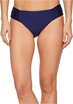 Athena Hey There Stud Shirred Side Hipster Bikini Bottom