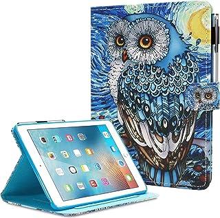 iPad Mini Case, Mini 2 3 4 Case Mini 5 Case, MonsDirect PU Leather Kickstand Case Flip Auto Sleep Wake Protective Cover fo...