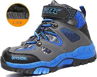 Littleplum Kids Hiking Boots Boys Waterproof Hiker Boot Hiking Shoes for Girls Sneaker